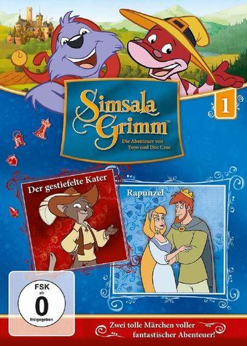 DVD SimsalaGrimm 01 1 Der gestiefelte Kater + Rapunzel  TV-Serie OVP & NEU