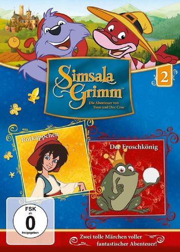 DVD SimsalaGrimm 02 2 Rotkäppchen + Der Froschkönig  TV-Serie OVP & NEU