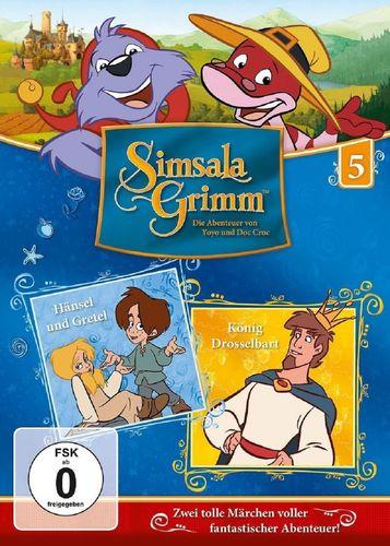 DVD SimsalaGrimm 05 5 Hänsel und Gretel + König Drosselbart TV-Serie OVP & NEU