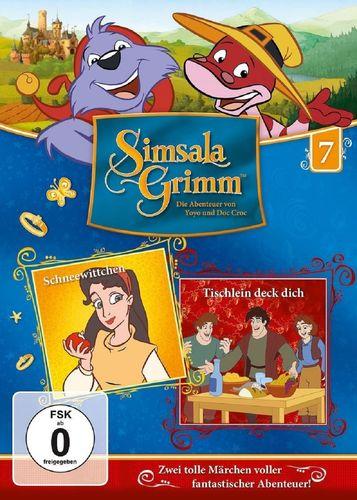 DVD SimsalaGrimm 07 7 Schneewittchen + Tischlein deck dich TV-Serie OVP & NEU