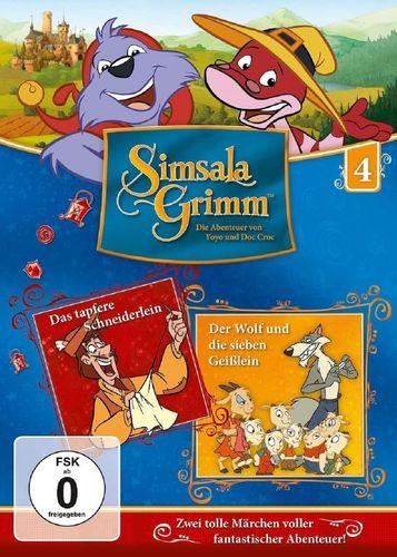 DVD SimsalaGrimm 04 4 Das tapfere Schneiderlein + Der Wolf und die sieben 7 Geißlein TV-Serie NEU