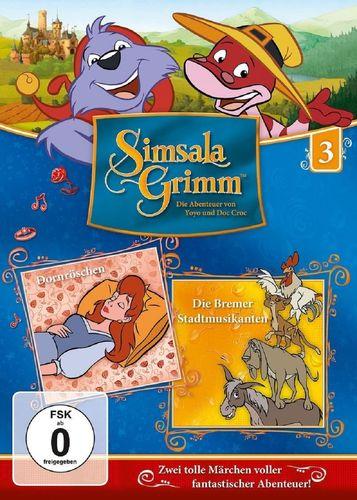 DVD SimsalaGrimm 03 3 Dornröschen + Die Bremer Stadtmusikanten  TV-Serie OVP & NEU