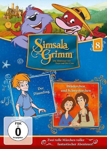 DVD SimsalaGrimm 08 8 Der Däumling + Brüderchen und Schwesterchen TV-Serie OVP & NEU