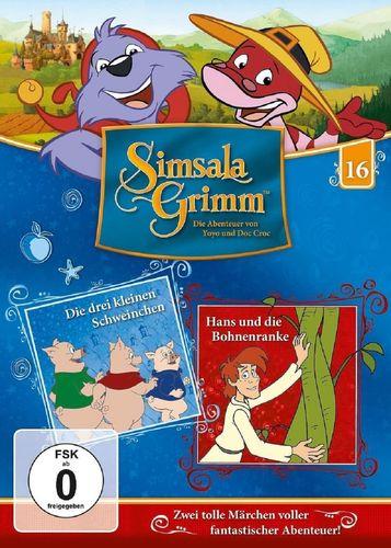 DVD SimsalaGrimm 16 Die drei kleinen Schweinchen + Hans und die Bohnenranke TV-Serie OVP NEU