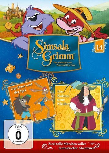 DVD SimsalaGrimm 14 Der Hase und der Igel + Des Kaisers neue Kleider TV-Serie OVP & NEU