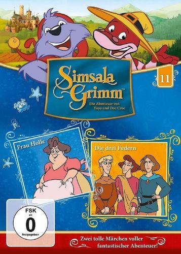 DVD SimsalaGrimm 11 Frau Holle + Die drei Federn  TV-Serie OVP & NEU
