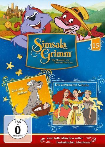 DVD SimsalaGrimm 15 Der alte Sultan + Die zertanzten Schuhe  TV-Serie OVP & NEU