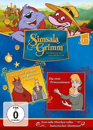 DVD SimsalaGrimm 17 Der Teufel mit den drei goldenen Haaren + Die zwei Prinzessinnen TV-Serie NEU
