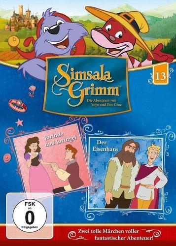 DVD SimsalaGrimm 13 Jorinde und Joringel + Der Eisenhans  TV-Serie OVP & NEU