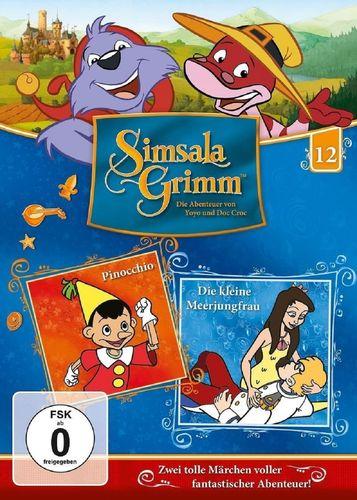 DVD SimsalaGrimm 12 Pinocchio + Die kleine Meerjungfrau  TV-Serie OVP & NEU