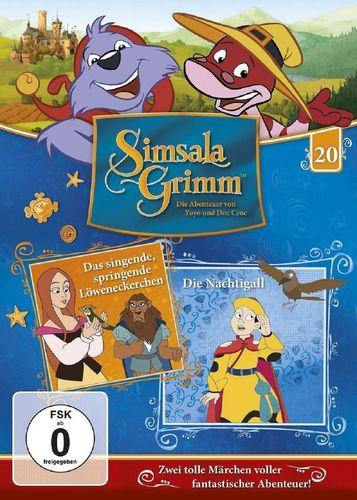 DVD SimsalaGrimm 20 Das singende springende Löweneckerchen + Die Nachtigall TV-Serie  OVP & NEU