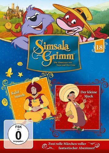 DVD SimsalaGrimm 18 Kalif Storch + Der kleine Muck  TV-Serie  OVP & NEU