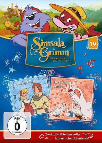 DVD SimsalaGrimm 19 Der Meisterdieb + Die sechs Schwäne  TV-Serie  OVP & NEU