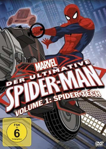 DVD Der ultimative Spider-Man 01 1 Spider-Tech TV-Serie Marvel OVP & NEU