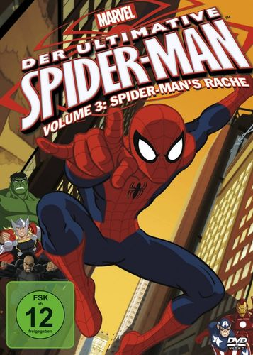 DVD Der ultimative Spider-Man 03 3 Spider-Man's Rache TV-Serie Marvel OVP & NEU