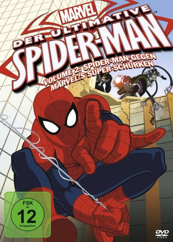 DVD Der ultimative Spider-Man 02 2 gegen Marvel's Super-Schurken TV-Serie Marvel OVP & NEU