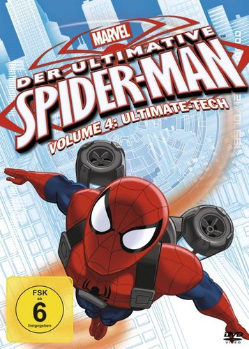 DVD Der ultimative Spider-Man 04 4 Ultimate-Tech  TV-Serie Marvel  OVP & NEU