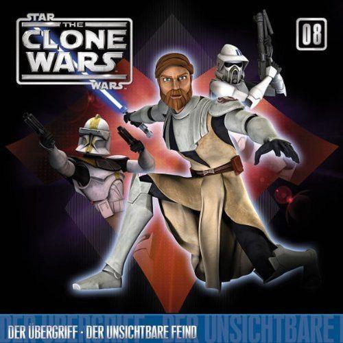 Star Wars - The Clone Wars Hörspiel CD 008  8 Der Übergriff + Der unsichtbare Feind NEU & OVP