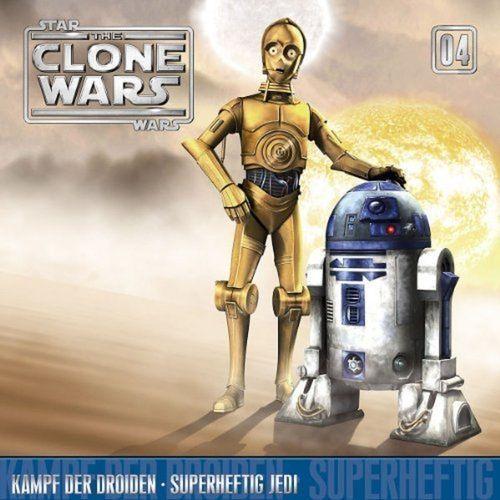 Star Wars - The Clone Wars Hörspiel CD 004  4 Kampf der Droiden + Superheftig Jedi NEU & OVP