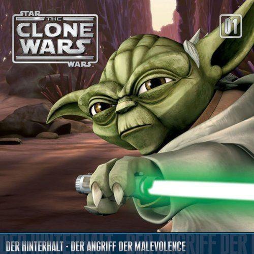 Star Wars - The Clone Wars Hörspiel CD 001  1 Der Hinterhalt + Der Angriff der Malevolence NEU & OVP