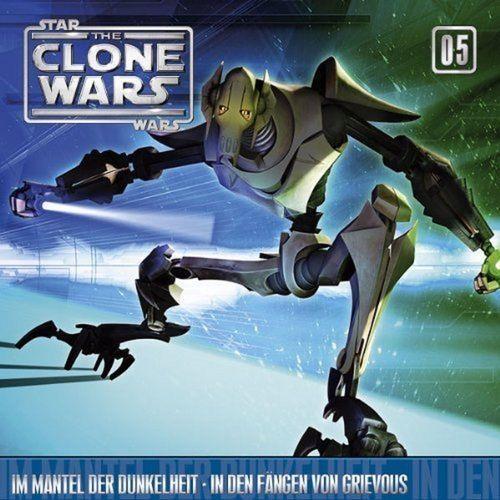 Star Wars - The Clone Wars Hsp CD 005  5 Im Mantel der Dunkelheit + In den Fängen von Grievous NEU