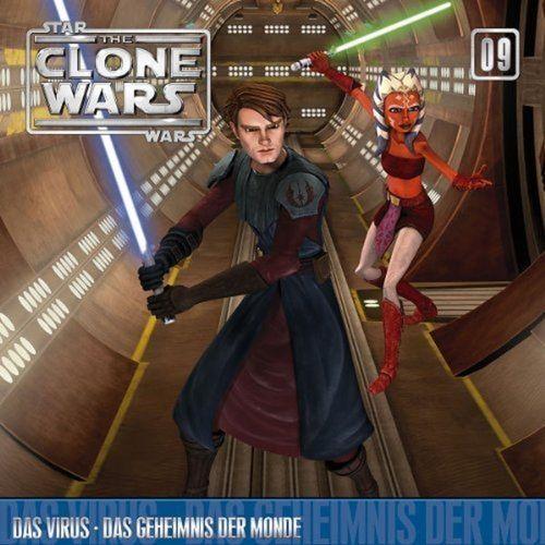 Star Wars - The Clone Wars Hörspiel CD 009  9 Das Virus + Das Geheimnis der Monde NEU & OVP