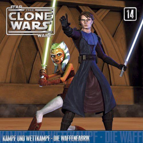 Star Wars - The Clone Wars Hörspiel CD 014 14 Kampf und Wettkampf + Die Waffenfabrik NEU & OVP