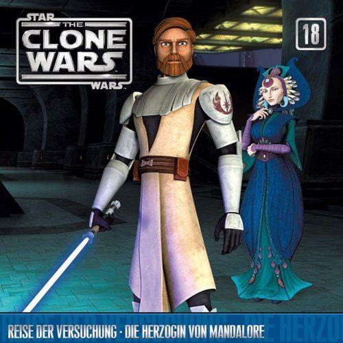 Star Wars - The Clone Wars Hörspiel CD 018 18 Reise der Versuchung + Die Herzogin von Mandalore NEU