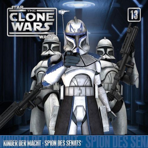 Star Wars - The Clone Wars Hörspiel CD 013 13 Kinder der Macht + Spion des Senats NEU & OVP