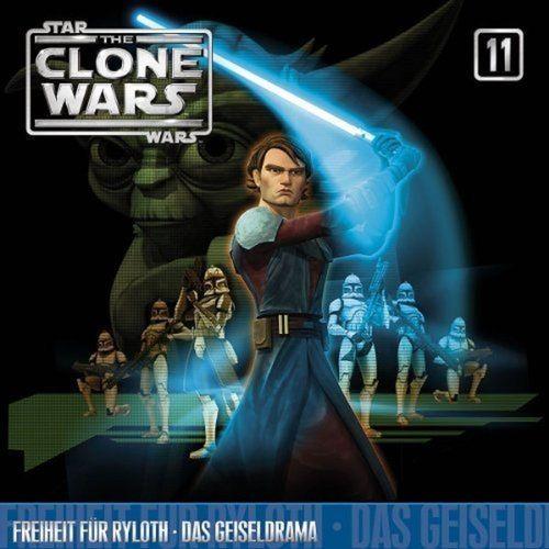 Star Wars - The Clone Wars Hörspiel CD 011 11 Freiheit für Ryloth + Das Geiseldrama NEU & OVP