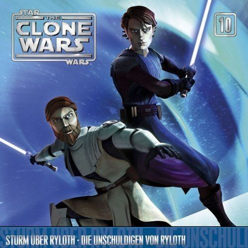 Star Wars - The Clone Wars Hörspiel CD 010 10 Sturm über Ryloth + Die Unschuldigen von Ryloth NEU