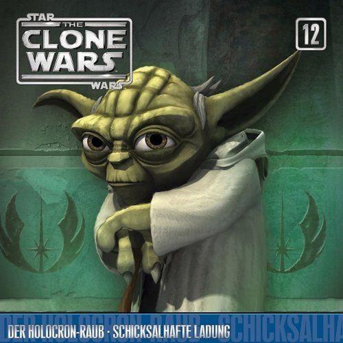 Star Wars - The Clone Wars Hörspiel CD 012 12 Der Holocron-Raub + Schicksalhafte Ladung NEU & OVP