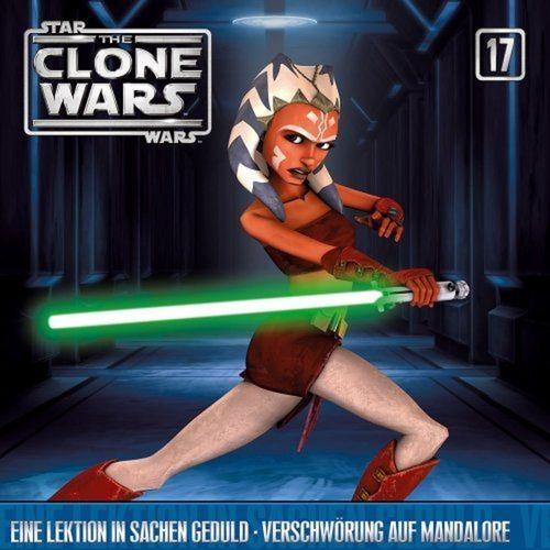 Star Wars - The Clone Wars Hsp CD 017 17 Eine Lektion in Sachen Geduld + Verschwörung Mandalore NEU