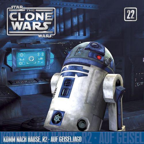 Star Wars - The Clone Wars Hörspiel CD 022 22 Komm Nach Hause, R2 + Auf Geiseljagd NEU & OVP