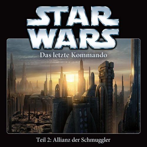Star Wars Krieg der Sterne Das Letzte Kommando Hörspiel CD 2 II Allianz der Schmuggler 2 von 5 NEU