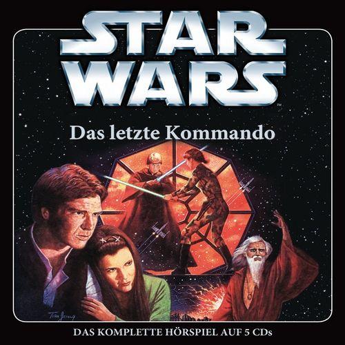 Star Wars Krieg der Sterne Das Letzte Kommando Hörspiel CD komplette Teil 1 2 3 4 5 x CDs in Box NEU