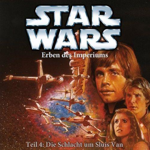 Star Wars Krieg der Sterne Erben des Imperiums Hörspiel CD Teil 4 IV Die Schlacht um Sluis Van NEU