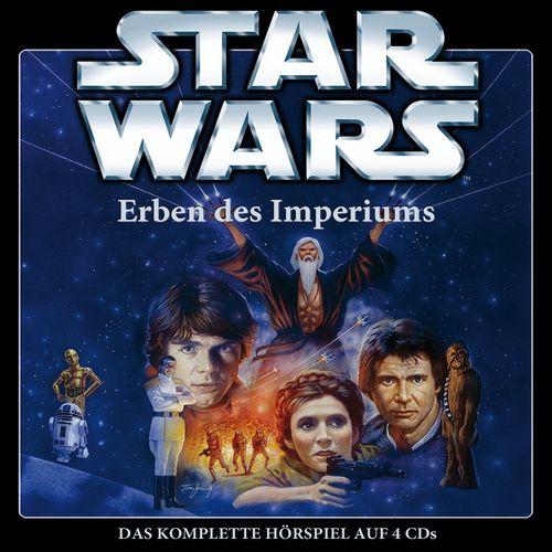 Star Wars Krieg der Sterne Erben des Imperiums Hörspiel CD komplette Teil 1 2 3 4 x CDs Box NEU