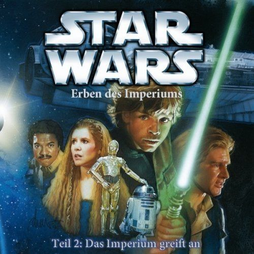 Star Wars Krieg der Sterne Erben des Imperiums Hörspiel CD Teil 2 II Das Imperium greift an NEU
