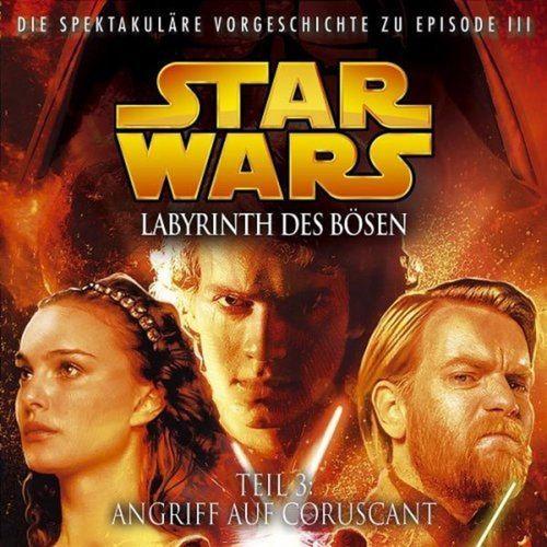 Star Wars Krieg der Sterne Labyrinth des Bösen Hörspiel CD 3 III Angriff auf Coruscant NEU