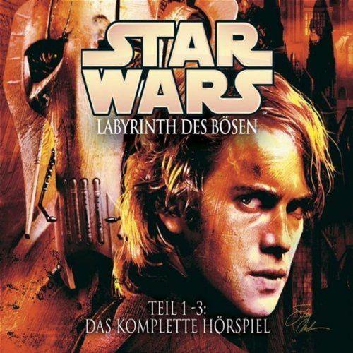 Star Wars Krieg der Sterne Labyrinth des Bösen Hörspiel CD komplette Teil 1 + 2 + 3 x CDs Box NEU