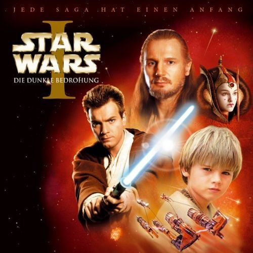 Star Wars Krieg der Sterne Hörspiel CD Folge 1 Episode I   Die dunkle Bedrohung NEU & OVP