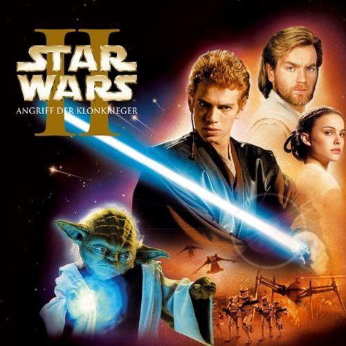 Star Wars Krieg der Sterne CD Folge 2 Episode II  Angriff der Klonkrieger  NEU & OVP