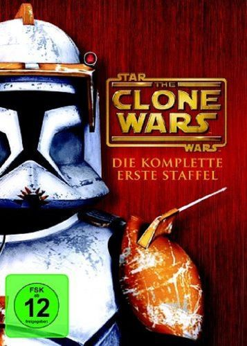 DVD Star Wars The Clone Wars komplette Staffel Season 1 erste TV-Serie NEU & OVP