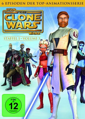 DVD Star Wars The Clone Wars Staffel Season 1.3  TV-Serie Folge 11-16 NEU & OVP