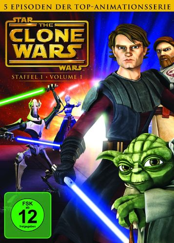 DVD Star Wars The Clone Wars Staffel Season 1.1  TV-Serie Folge 01-05 NEU & OVP