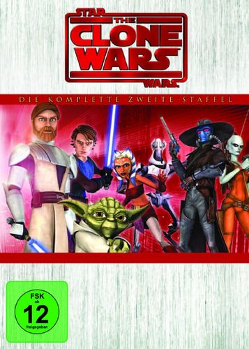 DVD Star Wars The Clone Wars komplette Staffel Season 2 zweite TV-Serie NEU & OVP
