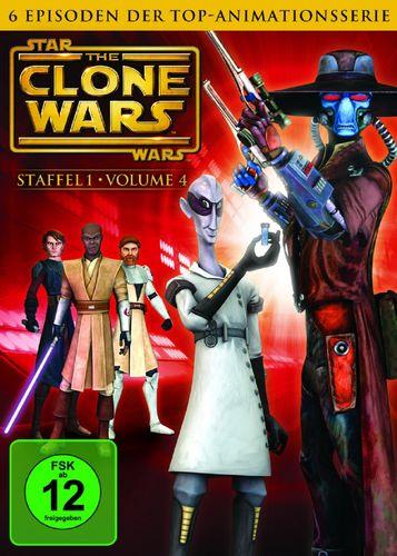 DVD Star Wars The Clone Wars Staffel Season 1.4  TV-Serie Folge 17-22 NEU & OVP