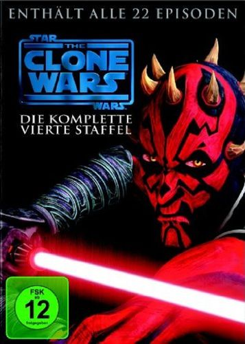 DVD Star Wars The Clone Wars komplette Staffel Season 4 vierte TV-Serie NEU & OVP
