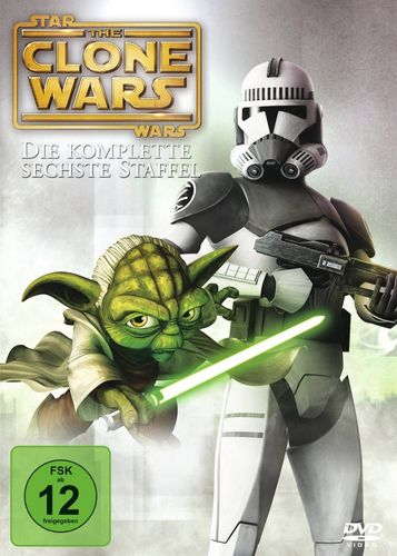 DVD Star Wars The Clone Wars komplette Staffel Season 6 sechste TV-Serie NEU & OVP